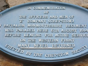 Drill Hall Plaque 1